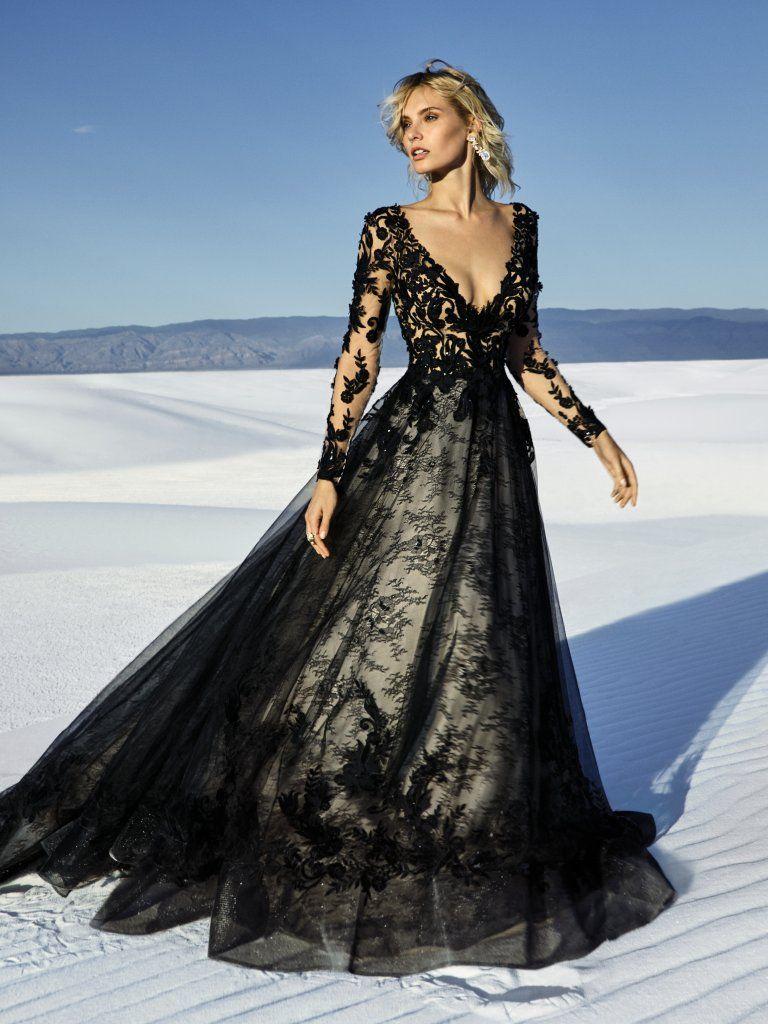 Schön und magisch -Das schwarze Hochzeitskleid – Bridal Times Depot